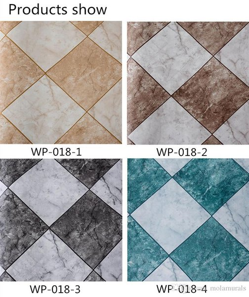 Marble Vinyl Stone Brick Wall Photo Wallpapers 3d Wallpaper For Bedroom Living Room TV Setting Wall Papers Home Decor 10M a lot