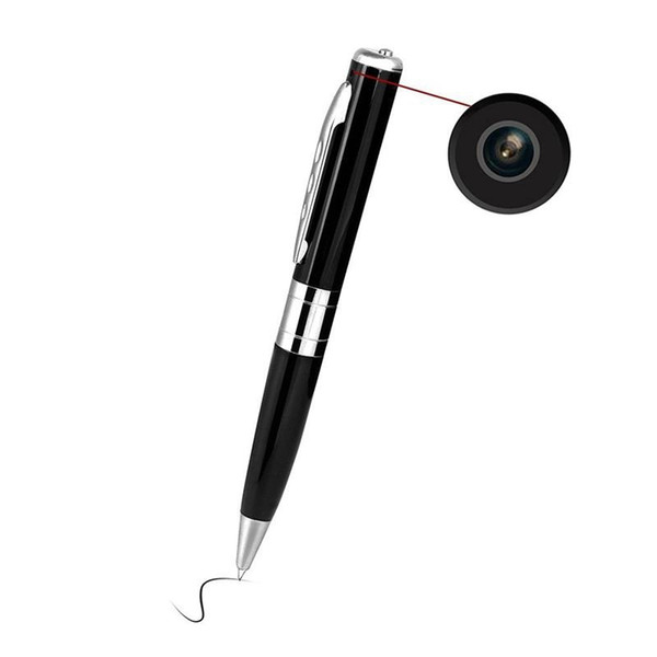 Portable mini pen camera dvr 720x480 30fp pocket pen dvr camera digital video recorder u b dv ecurity camcorder gold ilver