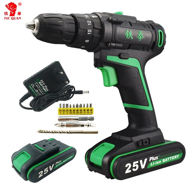 2019 25V New Style Power Screwdriver Electric Tools Mini Speed Rotary Tool  Drill Machine Screwdriver Cordless Li Ion Battery Tool Bit From