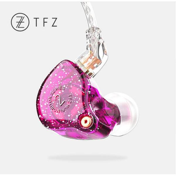 Yeni Kokulu Kanun TFZ Serisi 2 S2 2Pin Arayüzü HIFI Monitör Kulak Spor Kulaklık Özelleştirilmiş Dinamik DJ Kulaklık