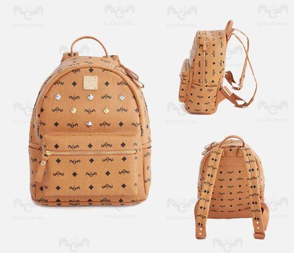 top popular Genuine Leather High Quality 3 size 2019 Luxury Designer men women's Backpack Designer lady backpacks Bags Women Men Travel bag backpack 2019