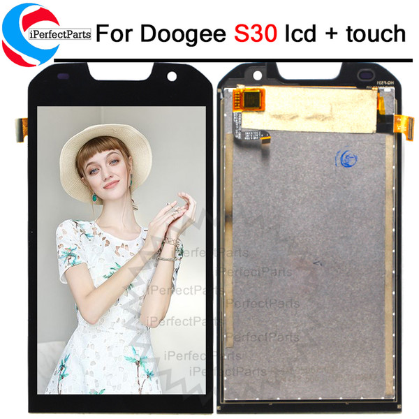 5.0 inch For Doogee S30 LCD Display And Touch Screen Assembly Repair Parts Replacement Mobile Phone Accessories+Tools