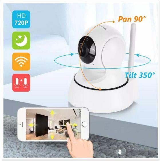 Home Security Wireless Mini IP Camera Surveillance Camera Wifi HD 720P Night Vision CCTV Camera Baby Monitor WITH retail box