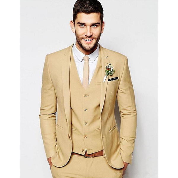 Latest Coat Pant Designs Custom Made Suits Men 2018 For Wedding Prom Marriage Groom Tuxedos Men Suit Casual (Jacket+Vest+Pants)