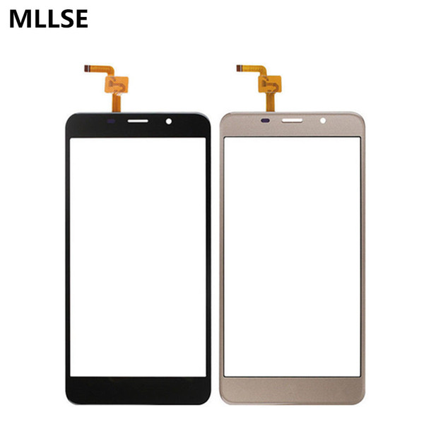 Mobile Phone Touch Panel Glass For Leagoo M8 Touch Screen Screen Digitizer Front Glass For Leagoo M8 Touchscreen+ sticker