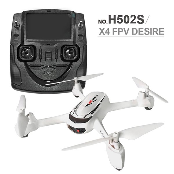RC Drone 5.8G FPV GPS Altitude Mode RC Quadcopter with 720P Camera Follow Me One Key Return Headless Mode Drones Hubsan X4 H502S