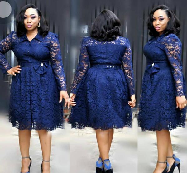 2018 new fashion style elegent african women plus size dress L-3XL