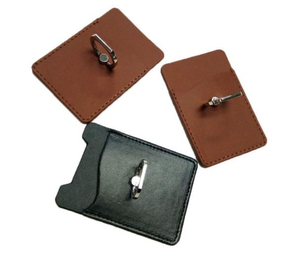 Christmas gift PU Leather Business Credit Name Id Card Holder Case Wallet Key Ring Credit Card Holder Leather Bag Cover