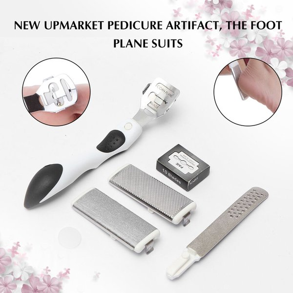 New Hot 100% Brand New Stainless Steel Skin Shaver Corn Cuticle Cutter Remover Rasp Pedicure File Foot Callus Blades 2018