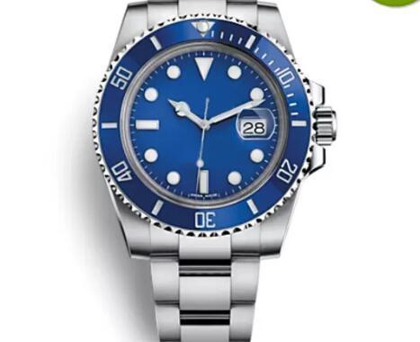 AAA Watch Top Luxury Brand Blue Dial Watch Ceramic Bezel Mens Automatic Watch Sports Self-wind Watches 116619LB Wristwatch Montre