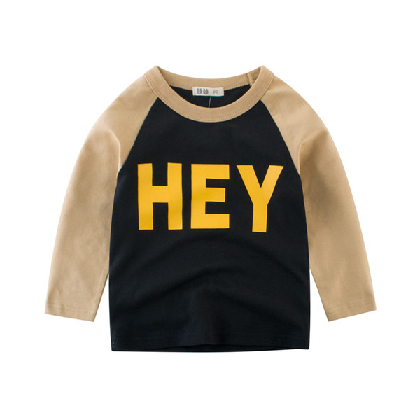 Hey tshirts super boys tees long sleeve baby kids tops children clothing mix order dropship