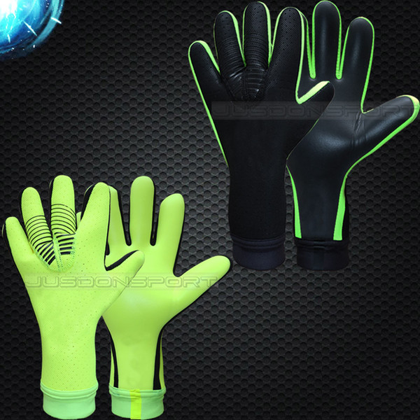 top popular New man soccer gloves without fingersave Professional goalkeeper gloves Goal keeper Gloves Soccer Goalie Soccer 2021