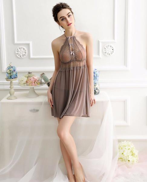 Compre Elegantes Mujeres Maduras Sexy Lencería Ropa Interior Sexy Vestido Transparente Vestidos De Noche A 71 Del Sextoyshop9 Dhgatecom