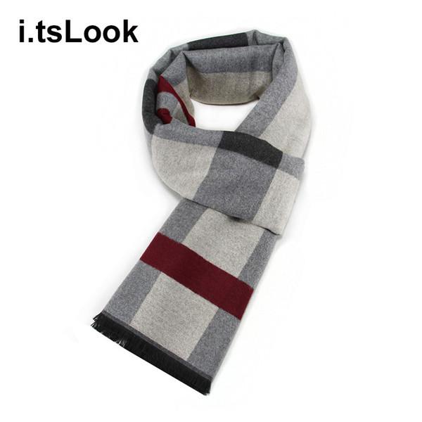 Men Business Scarf for teenage Boys Mufflers Casual Men's Scarves Neckerchief for women Winter Shawl pashmina sjaal szalik