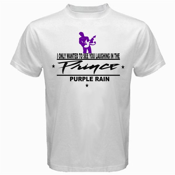 Prince Purple Rain leyendas ochenta sexy camiseta blanca camiseta básica para hombre 2018 moda marca camiseta Tops camiseta personalizada ambiental