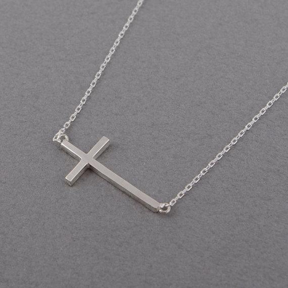 Katolik Hıristiyan Dini Çapraz Kolye Şanslı Korusun İsa Çapraz Tanrı ve Hayalet Kolye Muska Kolye Geometrik Poligon Takı