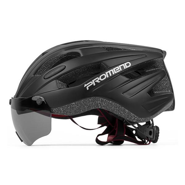 Riding Cycling Goggles Helmet Men Women Sports Bike Safety Lens Helmets Racing Bike Breathable Ski MTB Road Equipment