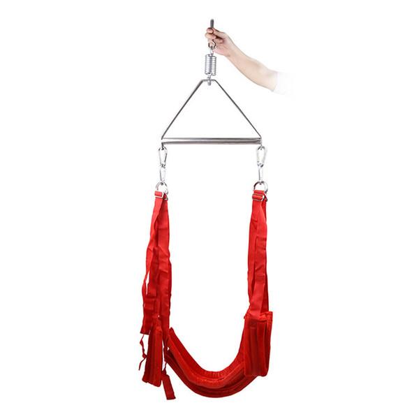 Trapeze Swing juguetes sexuales para mujer Bdsm Bondage Restricciones Strapon Sexo Juegos para adultos Accesorios sexuales Esclavo Menottes Pour Le Sex S19706