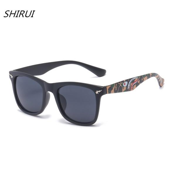 2018 Newest Cat Eye Classic Brand Sunglasses Unisex Hot Selling Sun Glasses Vintage Oculos Cartoon shark UV400 Shades #SR103