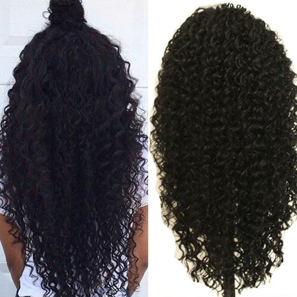 Cheap Synthetic Lace Front Wig With Baby Hair Lace Front Wig Synthetic For Black Women Fiber Hair Kinky Curly Afro Synthetic Wig