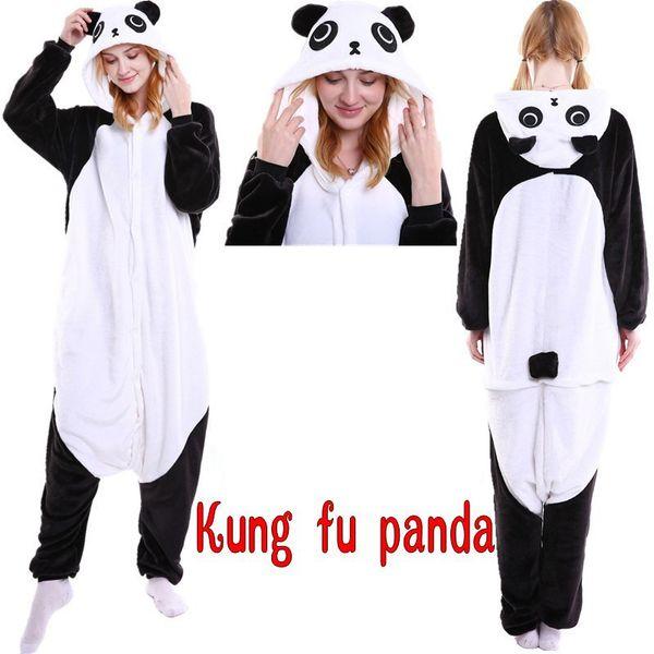 ac90feeba529fc Compre Animal Adorável Unicorn Panda Urso Veados Pikachu Adulto Unisex  Traje Cosplay Pijamas Pijamas Para Mulheres Dos Homens Frete Grátis De ...