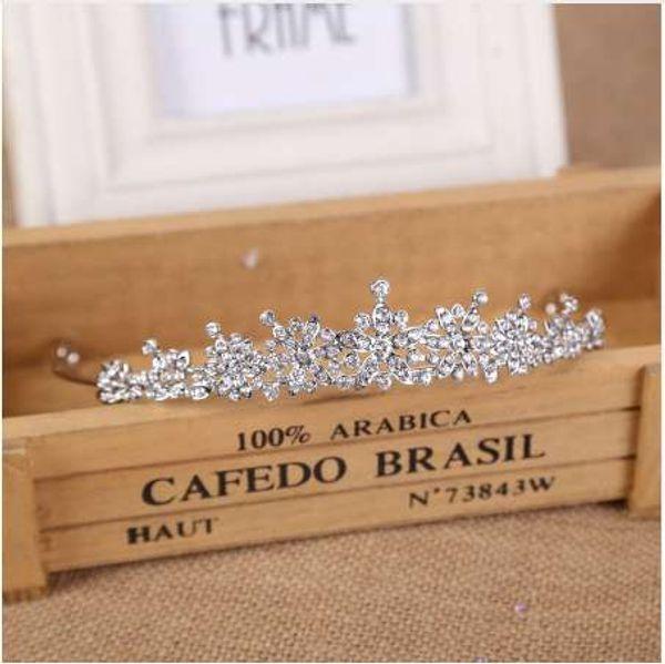 3 Designs Fashion Crystal Wedding Bridal Tiara Crown For Women Prom Diadem Hair Ornaments Wedding Bride hair Jewelry accessories