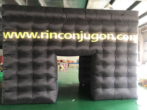 inflatable tent oxford cloth material event tent size 5X3X3 meter for sale free express shipping to door