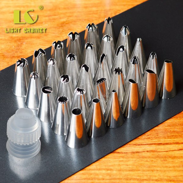Wholesale- Beautiful Flowers Nozzles Tips Decorating Pen Cupcake Sugarcraft Cake Decorating Tools Icing Tip Nozzles Bakeware Z5220