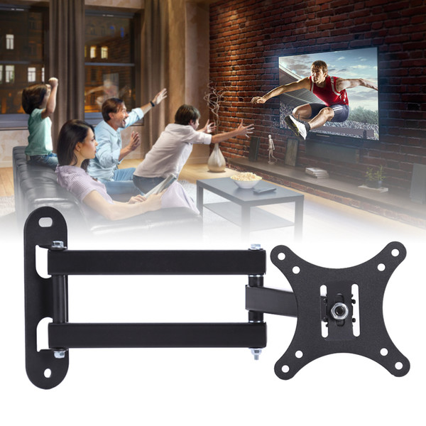 best selling Display Bracket Rack LCD TV Stand Retractable Frame Rack Telescopic LCD Wall Holder Racks Tools Accessories C310 10-37 inch
