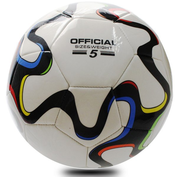 PU Soccer Size 5 Sewing Football Ball Men Mechanically Stitched Football kid soccer toys PU socrer balls