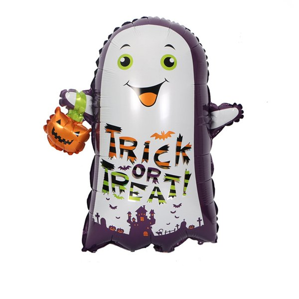 Halloween party birthday trick or treat balloons Party Supplies Ghosts balloon new style printed and customized balloon free shipping