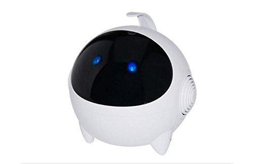 Portable Mini Robot Astronaut Cute Speaker Stereo Sound Speaker Multifunctional Computer Speaker for Tablet, Laptop, Desktop Computer MP4