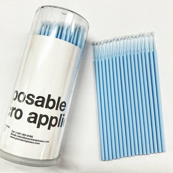 Seashine eyelash brush eyelash extension salon micro soft cleaning brush in the bottle brush free shipping