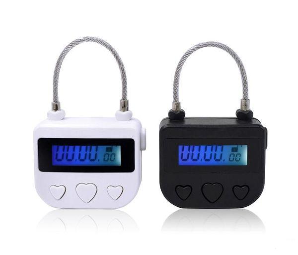 Time Lock Fetish Handcuffs Mouth Gag Bondage Lock Electronic Timer Bdsm Bondage Restraints Chastity Couples Toys Adult Game
