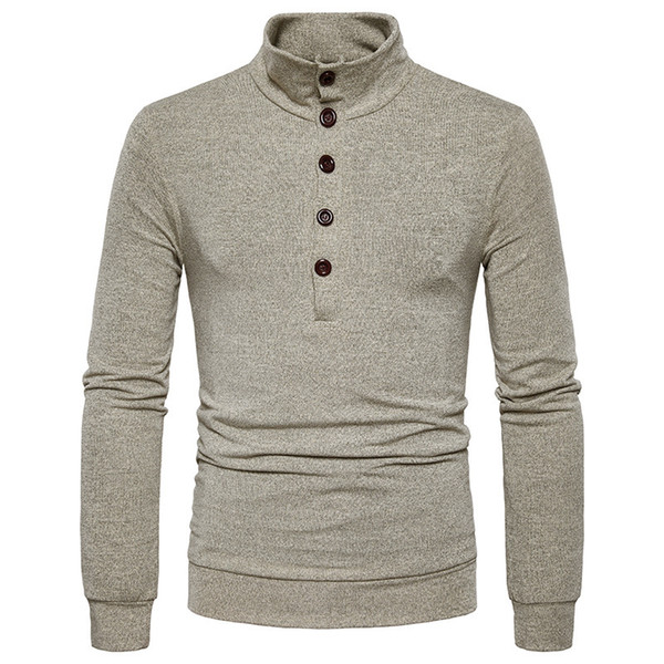 New Pullover Winter Thick Warm Sweater Men wool Turtleneck Brand Mens Sweaters Slim Fit Pullover Men Knitwear