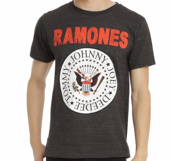 Dettagli zu The Ramones EAGLE CREST PRESIDENTIAL LOGO T-Shirt NEW 100% Autentico Divertente spedizione gratuita Unisex Casual tee regalo