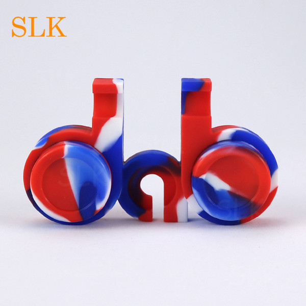Manufacturer Sales concentrate BHO Container non-toxic 2-5 Ml Honey Pot Silicone Jars Dab Wax Vaporizer Oil Container