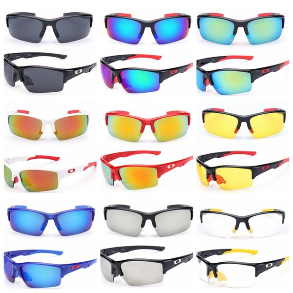 top popular Fashion Sunglasses Outdoor Sports men Sunglasses UV 400 Lens for Fishing Golfing Driving Running Eyewear GGA243 150PCS 2019