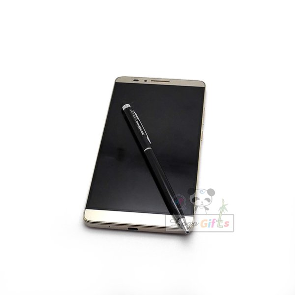 Pluma capacitiva de la pantalla táctil del lápiz multifuncional 500pcs / lot, su logotipo se personaliza gratis para el lápiz del regalo de boda
