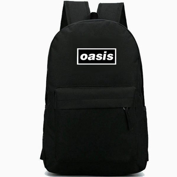 Oasis backpack Be here now daypack rock band schoolbag Music rucksack Sport school bag Outdoor day pack