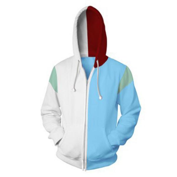 Zipper White Blue
