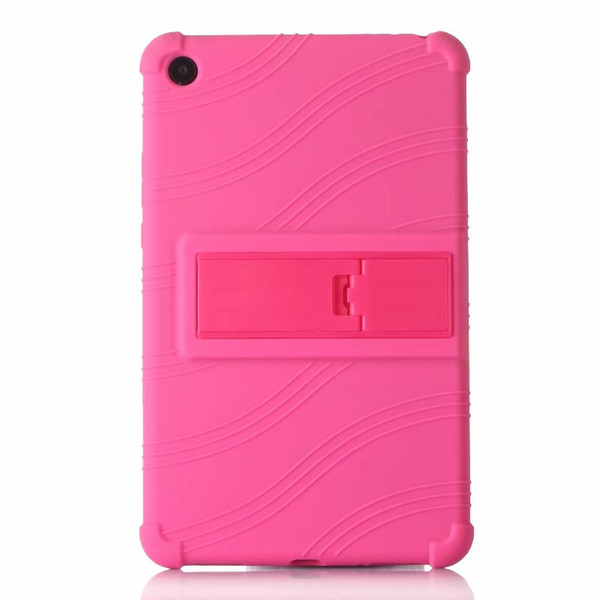 50pcs Soft TPU Back Cover Silicone Case with Stand for Xiaomi Mipad4 Mi Pad 4 Mipad 4 Tablet 8 inch + Stylus Pen