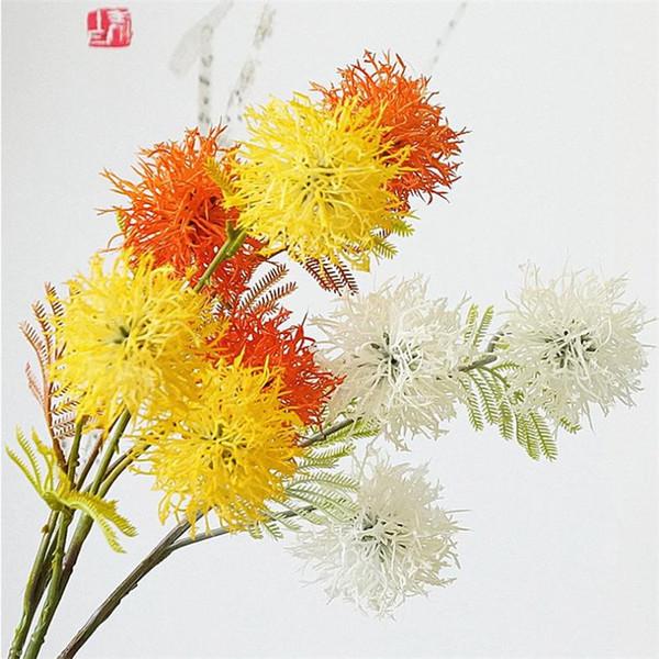 NEW Fake Single Stem Mao Danhua (3 heads/piece) Simulation Plastic Flowers for Wedding Home Showcase Artificial Flower