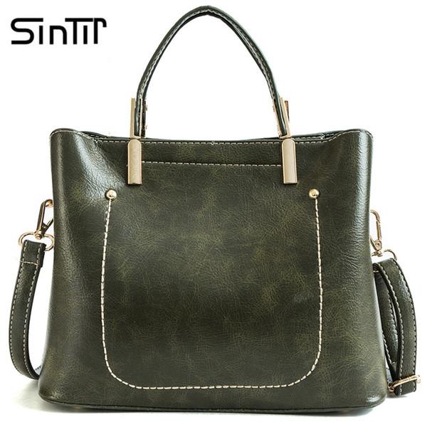 SINTIR роскошные сумки женщины сумки дизайнер Crossbody сумки для женщин Messenger старинные большой емкости сумка bolsos mujer