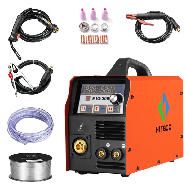 wiring up a 220v welding machine 2020 protable mig welding 200a 220v dc mig welder mig mag  200a 220v dc mig welder mig mag