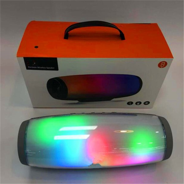LED Bluetooth Speaker Portable Wireless Speaker waterproof Stereo MP3 Player for phone computer DHL free shipping