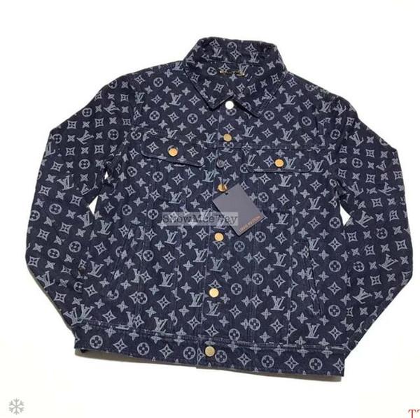 2019 Tide brand new top version of high quality cool denim jacket for men and women maxi dresses sweatshirt mens mens designer tracksuits
