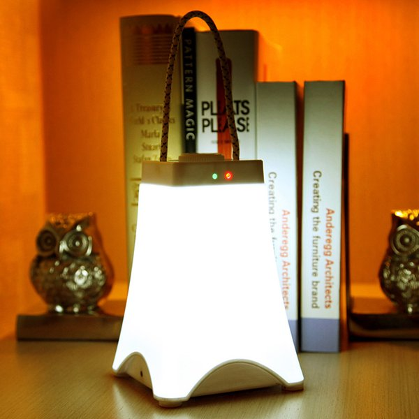 Creative Night Light Super Bright rechargeable emergency light household portable lantern lamp Kids Bedside Lamps