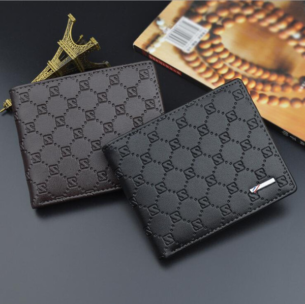 Großhandel 2018 Luxus Beliebt Die Neue Mode Geschäft Mb Echtes Leder Visitenkarte Fall Tasche Kreditkarteninhaber Männer Schwarz Kurze Kredit Inhaber