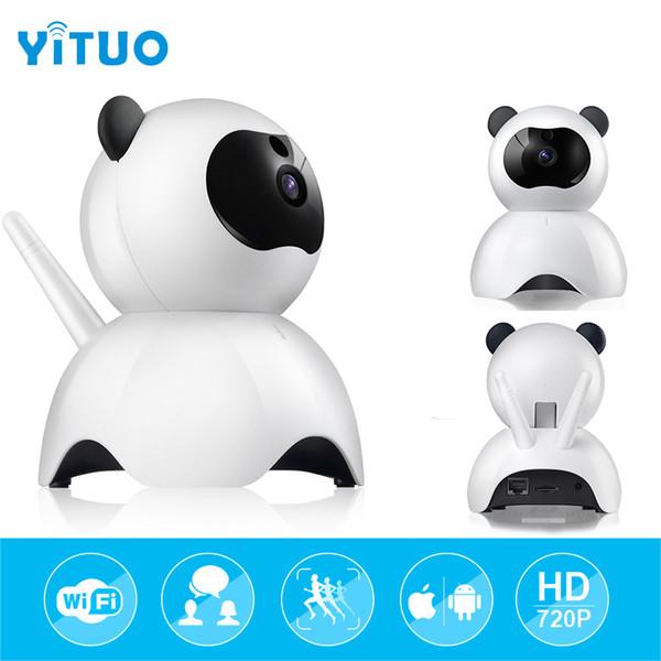 mini Surveillance IP Camera hd 720P Video Surveillance Wireless Security wifi Camera Lovely Panda Baby Camera Monitor YITUO